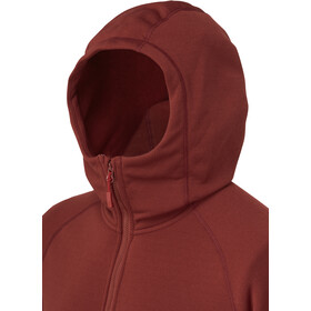 Rab Power Stretch Pro Jacket Men, oxblood red